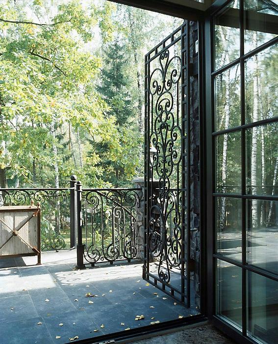 Загородный дом. терраса  из проекта , фото №6710
