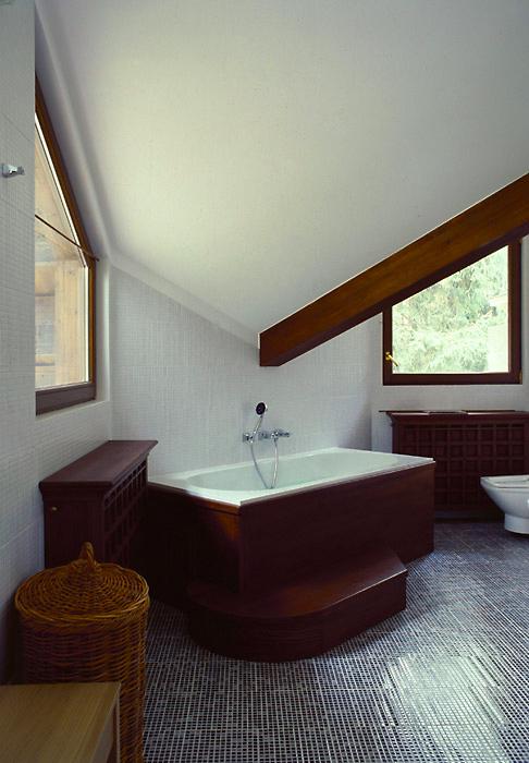 Загородный дом. ванная из проекта , фото №6731