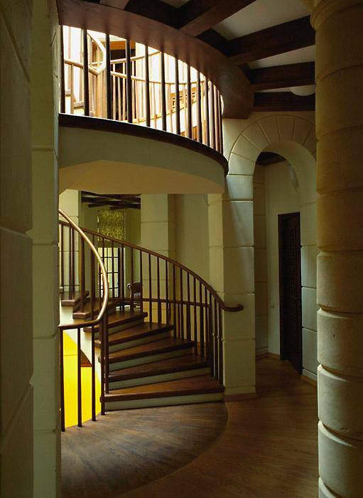 Загородный дом. холл из проекта , фото №6723