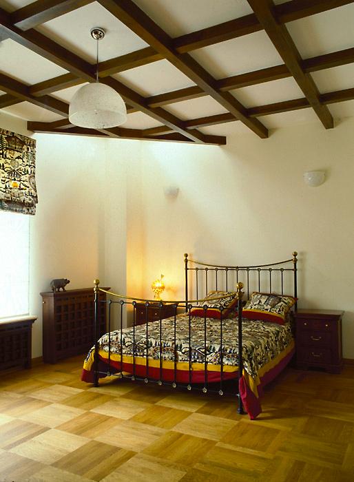 Загородный дом. спальня из проекта , фото №6722