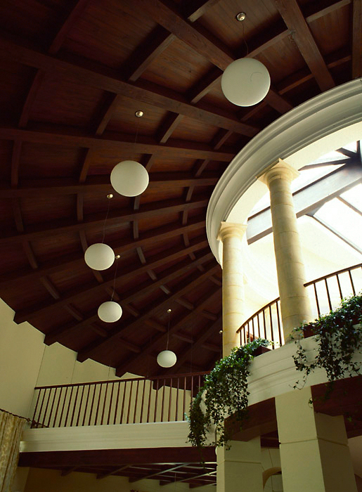 Загородный дом. холл из проекта , фото №6724