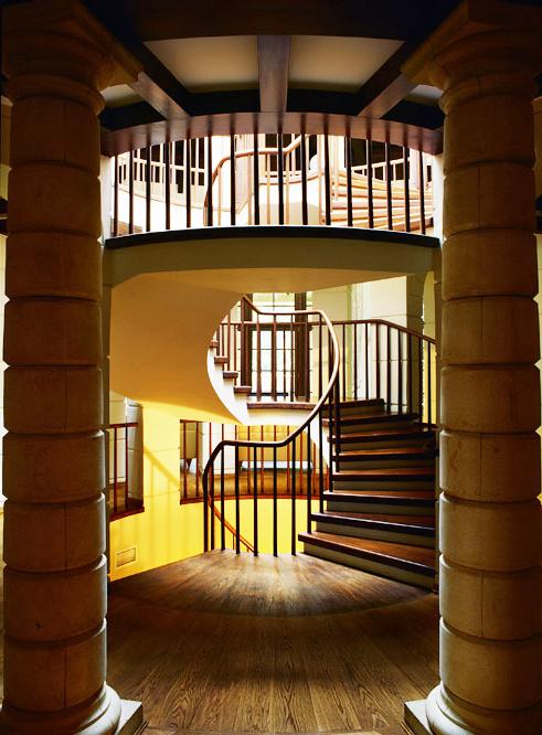 Загородный дом. холл из проекта , фото №1476