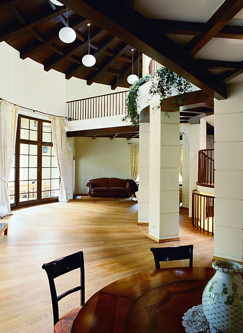 Загородный дом. гостиная из проекта , фото №303