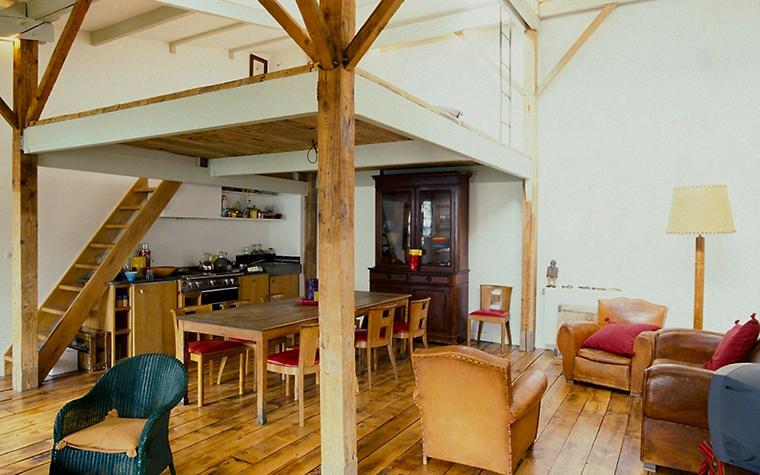 Загородный дом. кухня из проекта , фото №6929