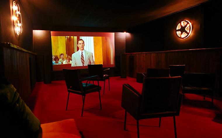 Загородный дом. домашний кинотеатр из проекта , фото №311