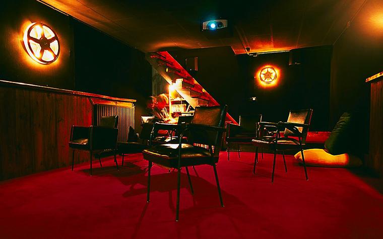 Загородный дом. домашний кинотеатр из проекта , фото №312