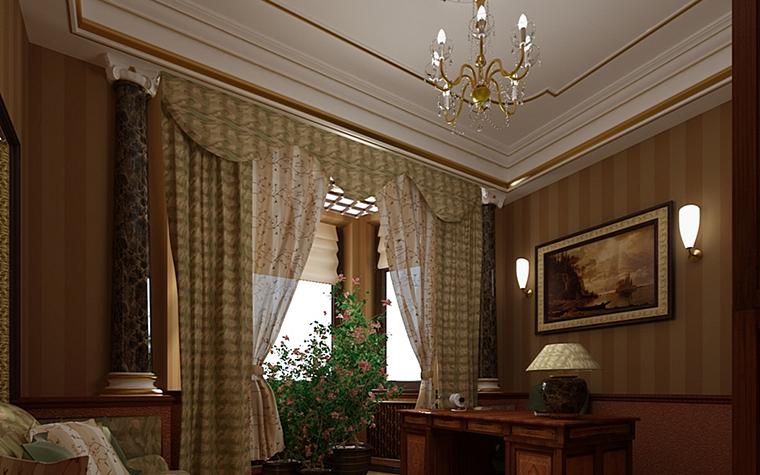 интерьер кабинета - фото № 9975