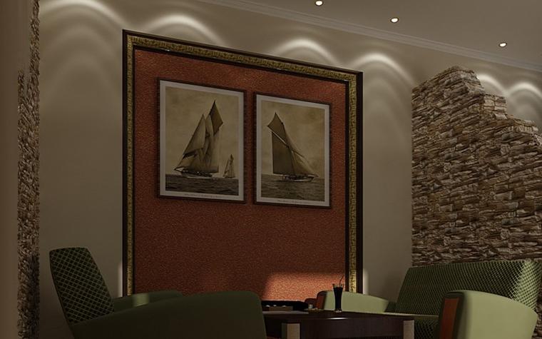 интерьер гостиной - фото № 10056