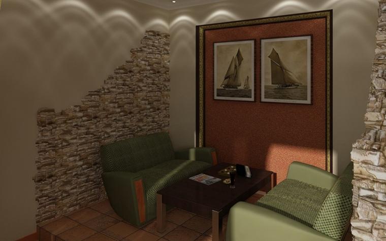 интерьер гостиной - фото № 10057