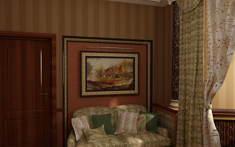 интерьер кабинета - фото № 9974