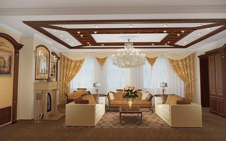 интерьер гостиной - фото № 10378