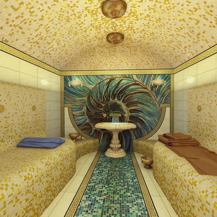 интерьер бани - фото № 10382