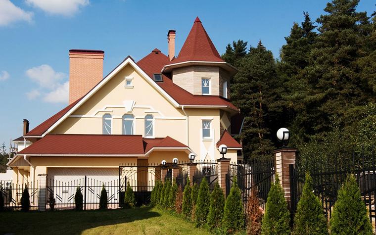 Загородный дом. фасад из проекта , фото №10383