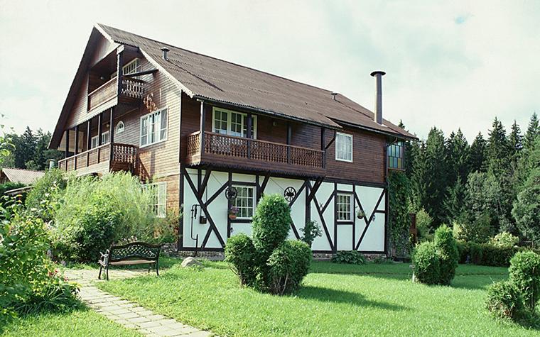 Загородный дом. фасад из проекта , фото №10438