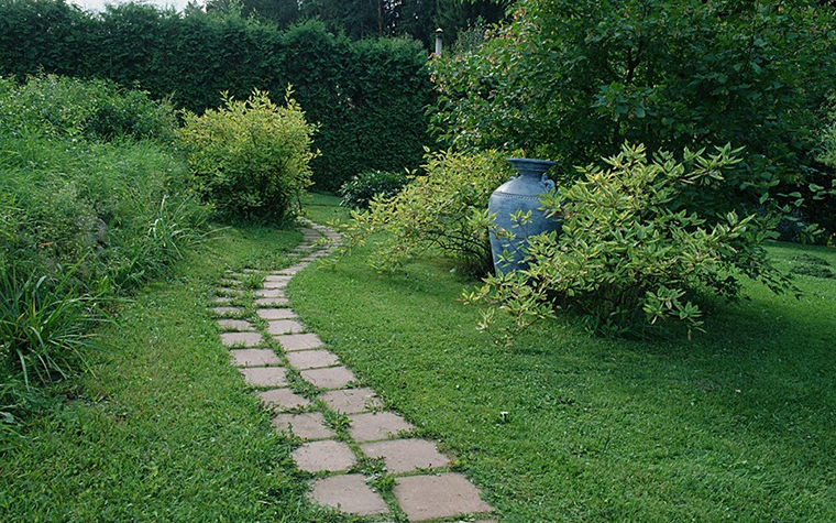Загородный дом. дорожка из проекта , фото №10455