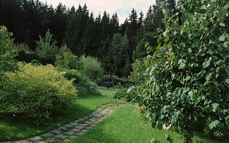 Загородный дом. дорожка из проекта , фото №10456