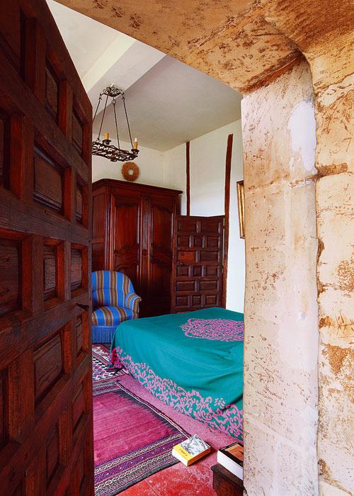 Загородный дом. спальня из проекта , фото №405