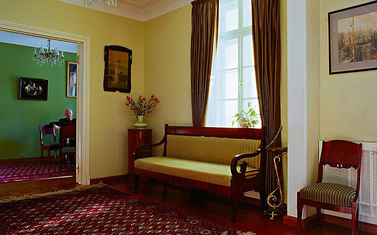Загородный дом. гостиная из проекта , фото №446