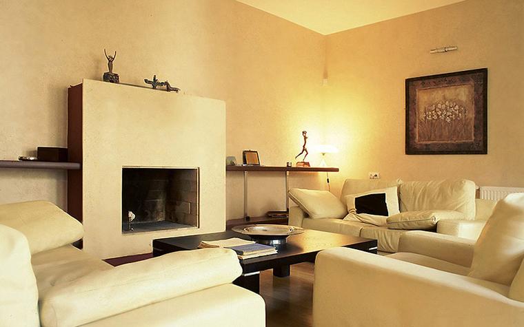 интерьер гостиной - фото № 10230