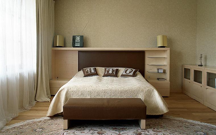Фото № 10323 спальня  Загородный дом