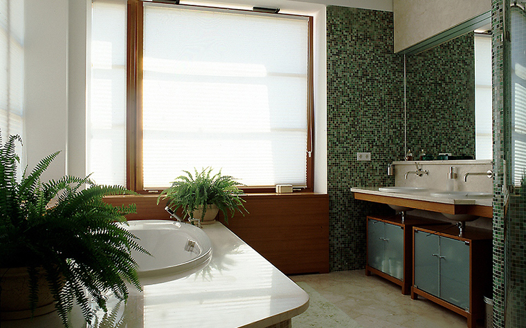 Загородный дом. ванная из проекта , фото №10328