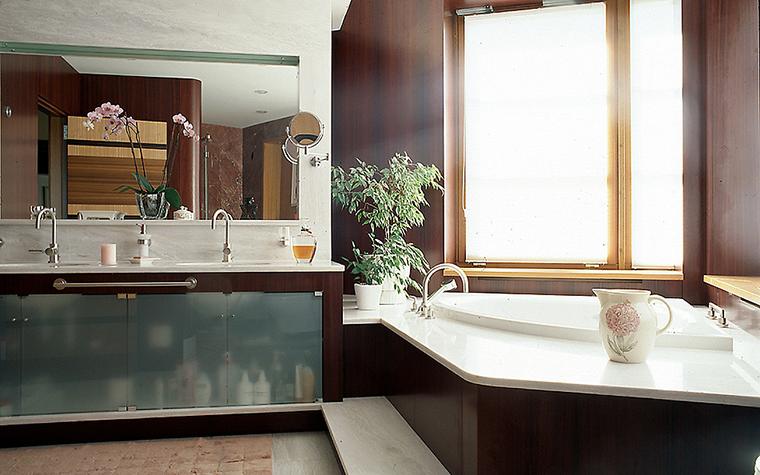 Загородный дом. ванная из проекта , фото №10329