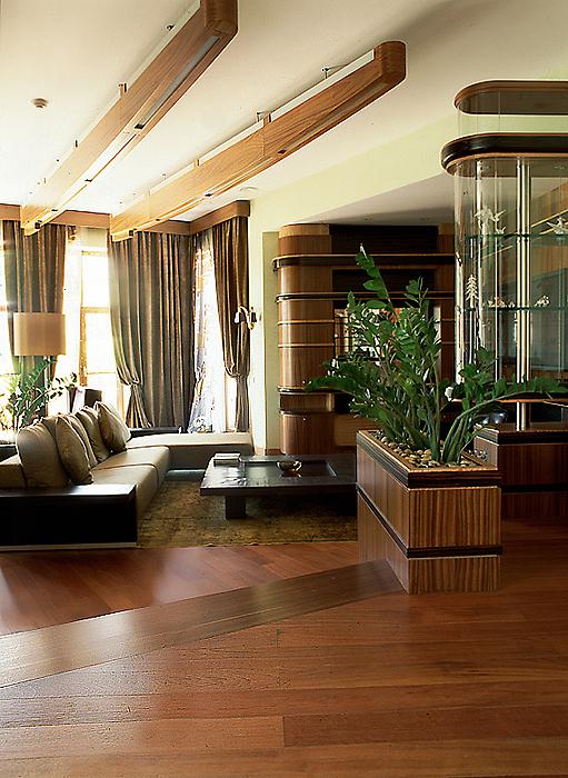 интерьер гостиной - фото № 10320