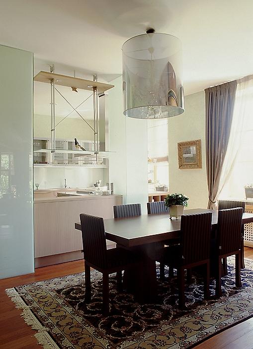 Фото № 10325 кухня  Загородный дом