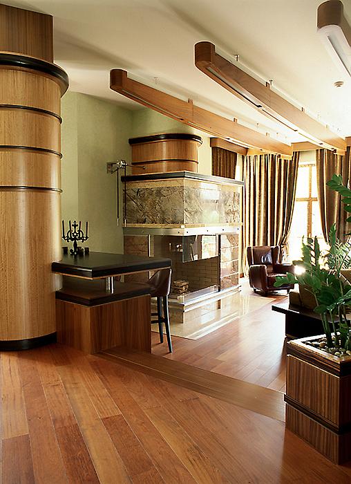 Загородный дом. гостиная из проекта , фото №10321