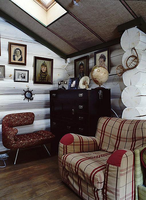 Загородный дом. гостиная из проекта , фото №9533