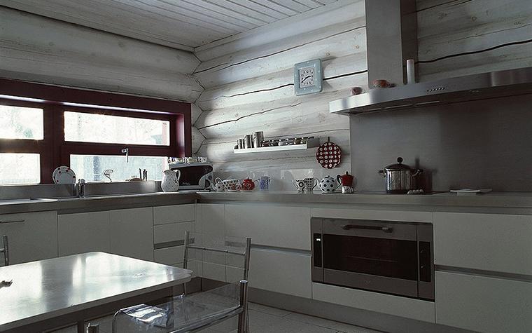 Фото № 9535 кухня  Загородный дом
