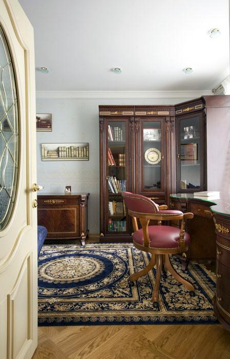 интерьер кабинета - фото № 551