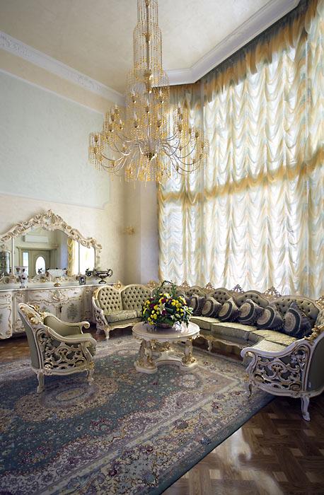 интерьер гостиной - фото № 558