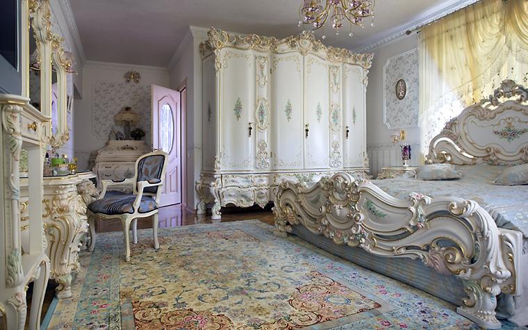 интерьер спальни - фото № 562