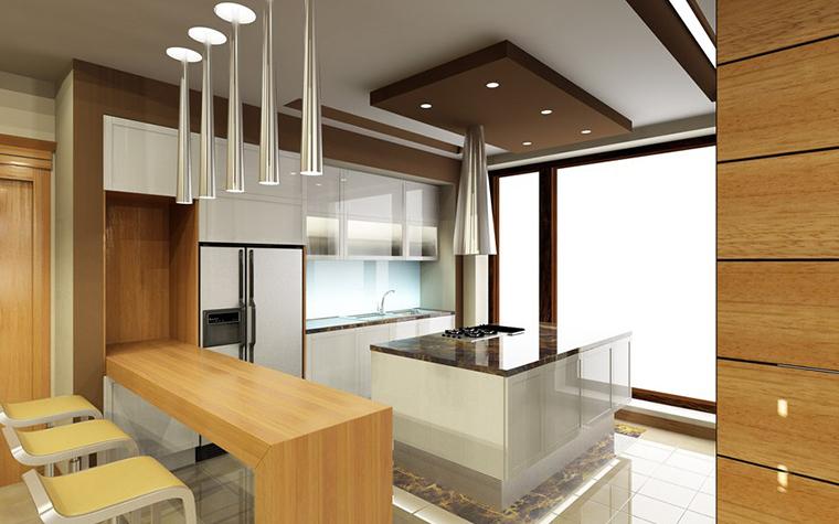Фото № 775 кухня  Загородный дом