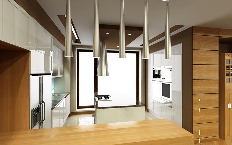 Загородный дом. кухня из проекта , фото №776