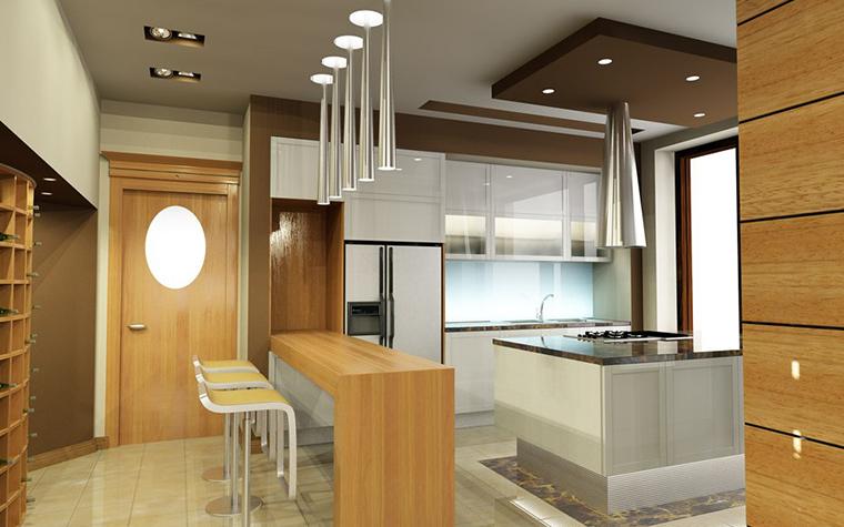 Фото № 777 кухня  Загородный дом