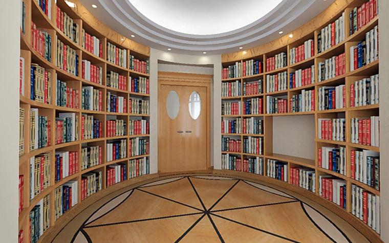 Фото № 1540 кабинет библиотека  Загородный дом