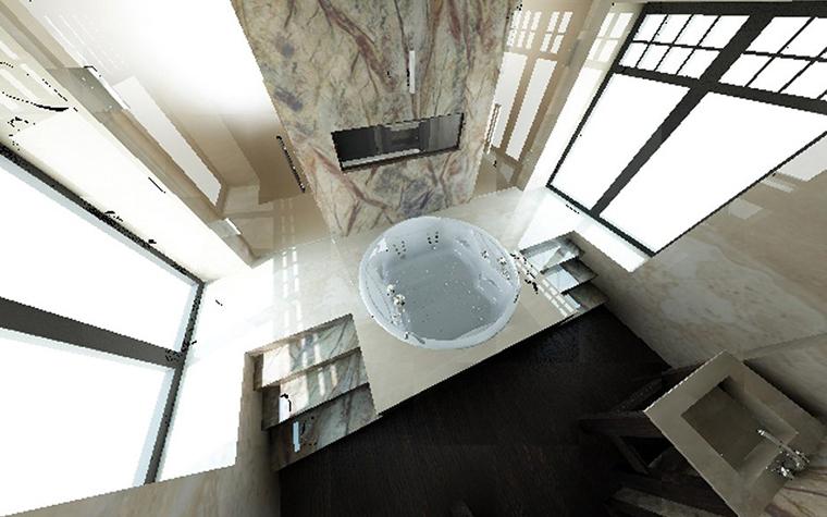 Фото № 1444 ванная  Загородный дом