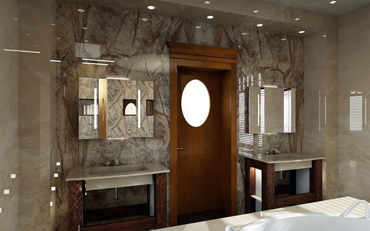 Фото № 1446 ванная  Загородный дом