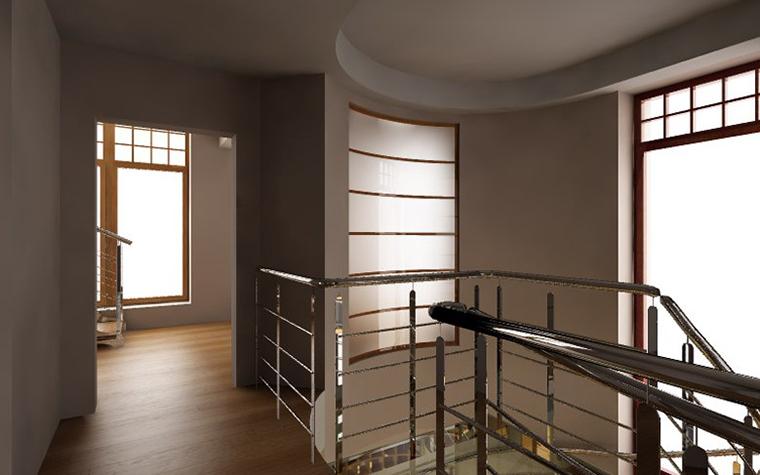 Загородный дом. холл из проекта , фото №1500
