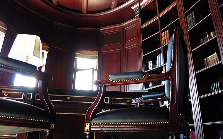 Фото № 994 кабинет библиотека  Загородный дом