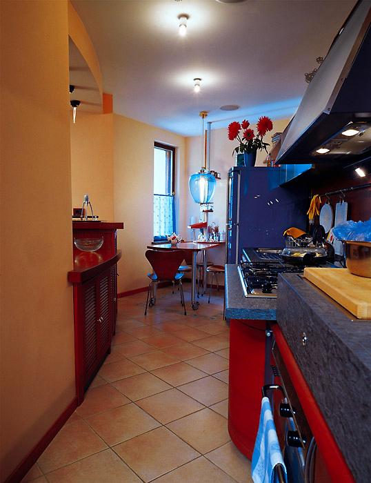 Фото № 6039 кухня  Загородный дом