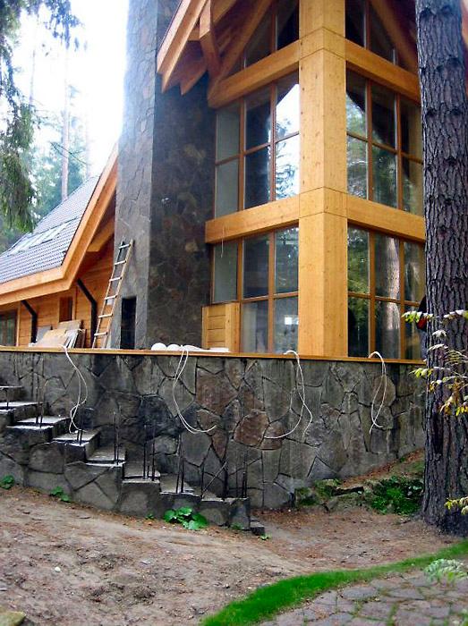 Фото № 1217 фасад  Загородный дом