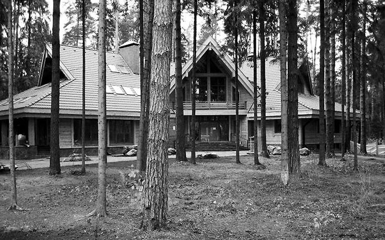 Загородный дом. фасад из проекта , фото №1218