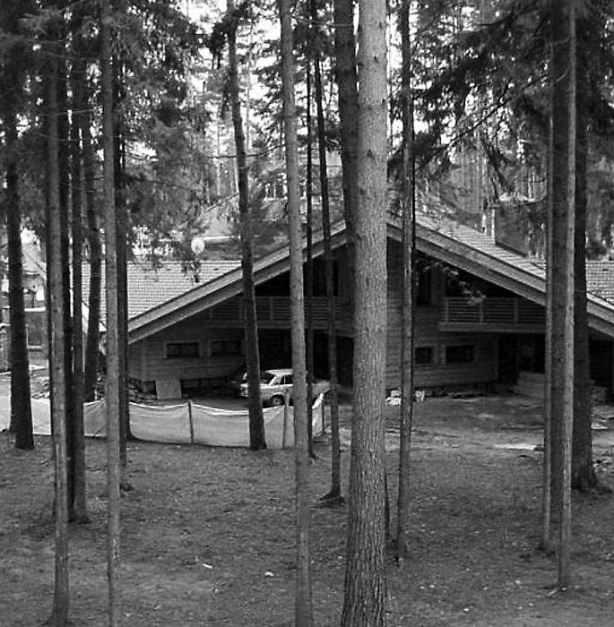 Загородный дом. гараж из проекта , фото №1231