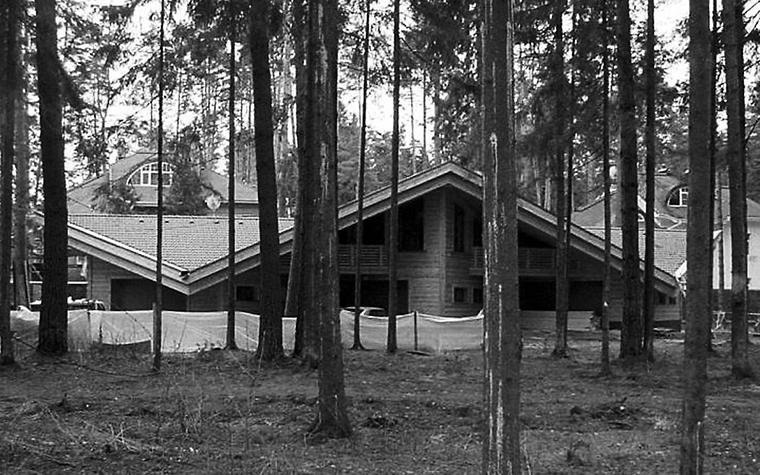 Загородный дом. гараж из проекта , фото №1236
