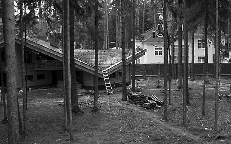 Фото № 1237 гараж  Загородный дом