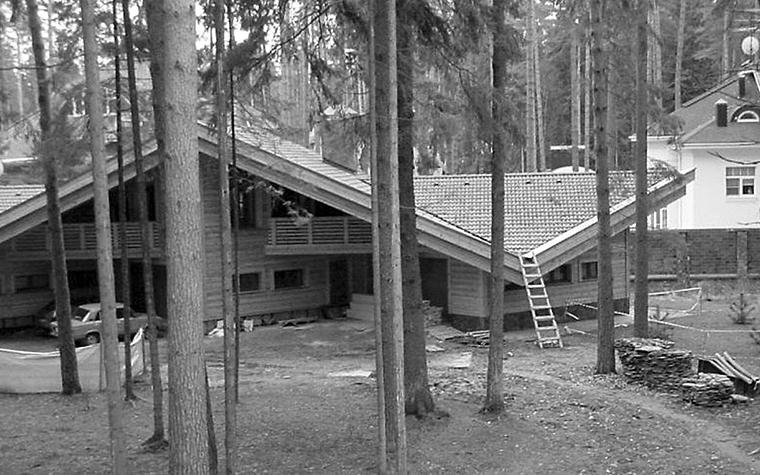 Загородный дом. гараж из проекта , фото №1233