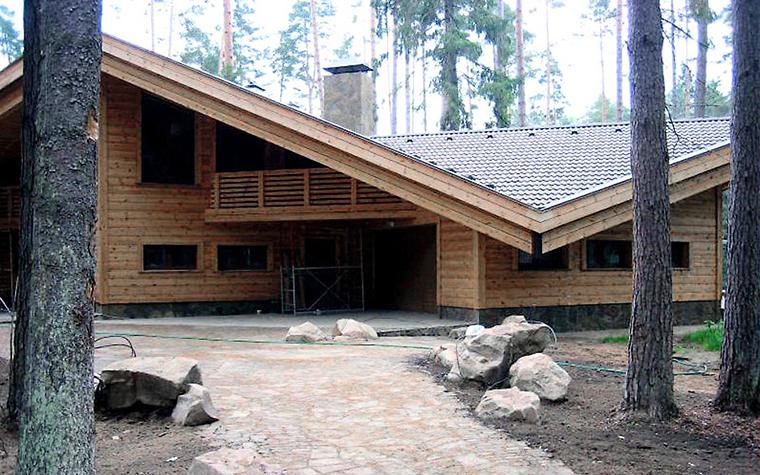 Загородный дом. гараж из проекта , фото №1235